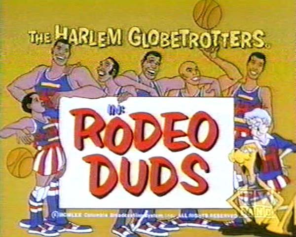 <i>Rodeo Duds Television Episode</i> Title Card