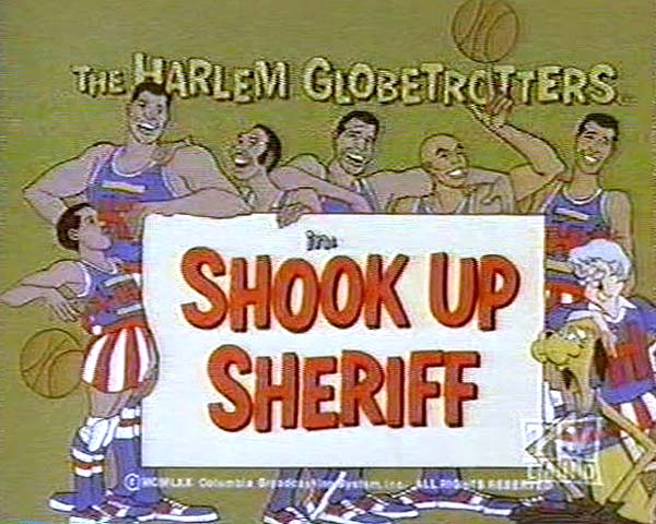 <i>Shook-Up Sheriff Television Episode</i> Title Card