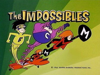 The Impossibles Television Series Title Card