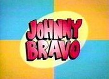 <i>Johnny Bravo Television</i> Series Title Card