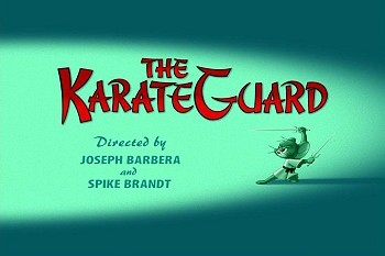 <i>The KarateGuard</i> Title Card