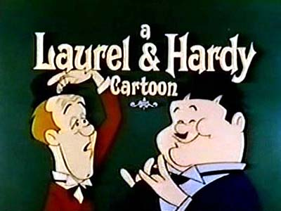 'Laurel and Hardy Television' Series Title Card