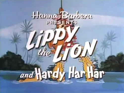 'Lippy the Lion and Hardy Har Har Television' Series Title Card