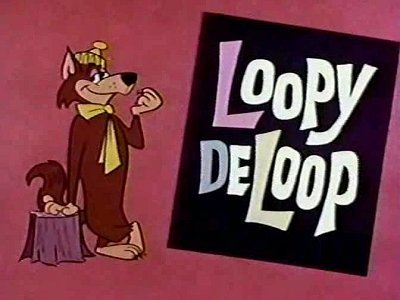 'Loopy de Loop Television' Series Title Card