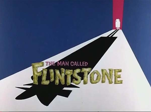 <i>The Man Called Flintstone</i> Title Card