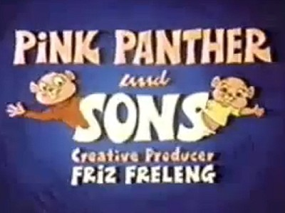<i>Pink Panther and Sons Television</i> Series Title Card
