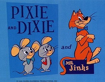 Pixie and Dixie Television Series Title Card