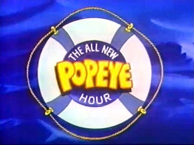 Popeye's Sports Parade Television Series Title Card