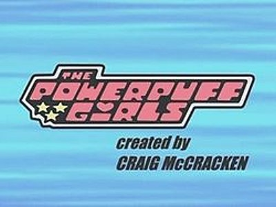 'The Powerpuff Girls Television' Series Title Card