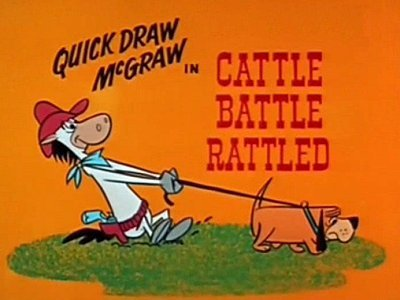<i>Cattle Battle Rattled Television Episode</i> Title Card