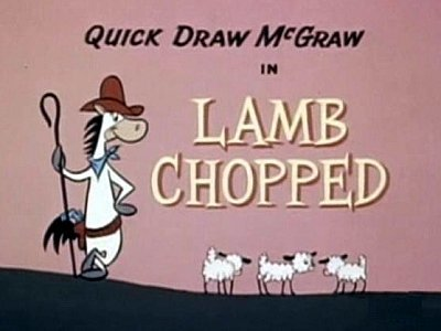 <i>Lamb Chopped Television Episode</i> Title Card