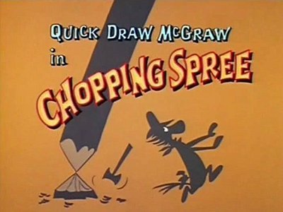 <i>Chopping Spree Television Episode</i> Title Card