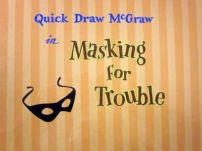 <i>Masking For Trouble Television Episode</i> Title Card