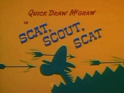 <i>Scat, Scout, Scat Television Episode</i> Title Card