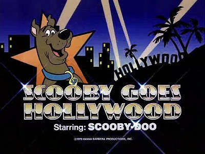 'Scooby-Doo Goes Hollywood' Title Card