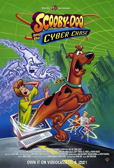 'Scooby-Doo And The Cyber Chase' Original Video Release Poster