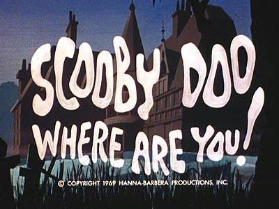 <i>Scooby Doo, Where Are You! Television</i> Series Title Card
