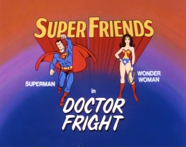 <i>Doctor Fright Television Episode</i> Title Card