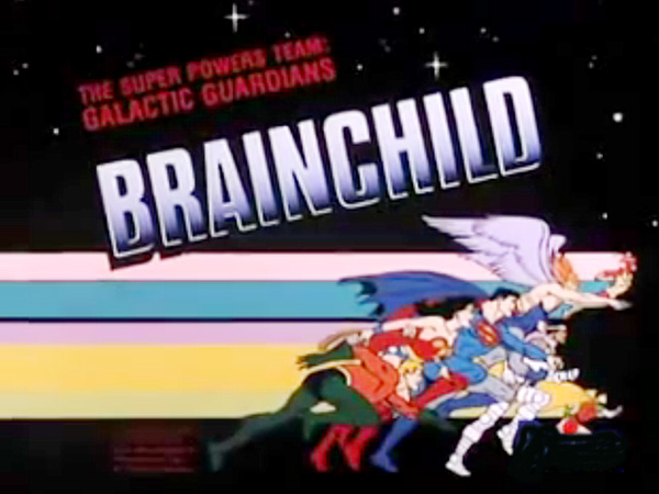 <i>Brainchild Television Episode</i> Title Card