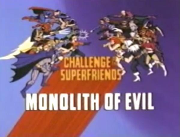 <i>Monolith Of Evil Television Episode</i> Title Card