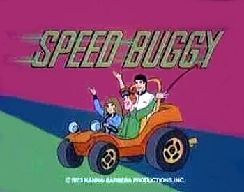 'Speed Buggy Television' Series Title Card
