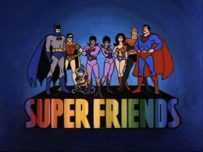'Super Friends (II) Television' Series Title Card