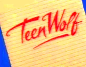 Teen Wolf Television Series Title Card