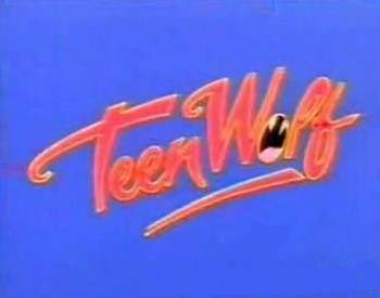 <i>Teen Wolf Television</i> Series Title Card