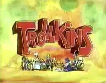 'Trollkins Television' Series Title Card