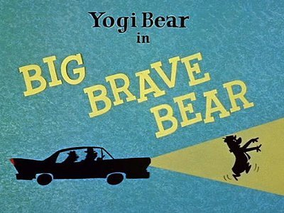 <i>Big Brave Bear Television Episode</i> Title Card