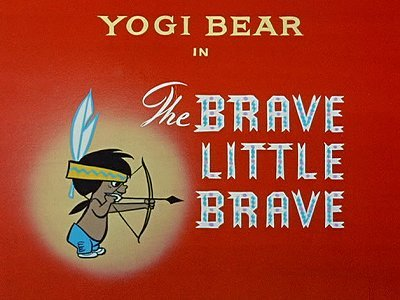 <i>The Brave Little Brave Television Episode</i> Title Card
