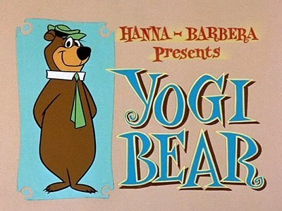 <i>Yogi Bear Television</i> Series Title Card