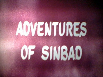 'Shindbad No Baden' English Language Title Card