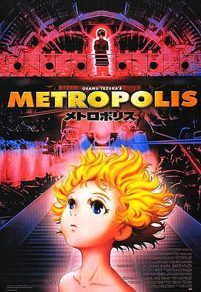 Metropolis Release Poster