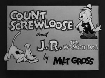 'Wanted: No Master' Count Screwloose Title Card