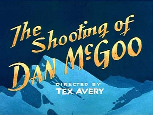 <i>The Shooting Of Dan McGoo</i> Title Card