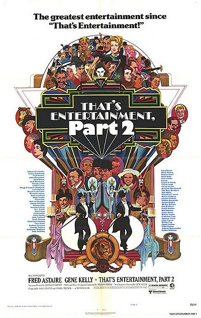 'That's Entertainment, Part II' Original Release Poster