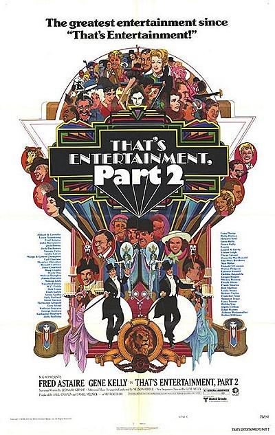 'That's Entertainment, Part II' Original Release Poster