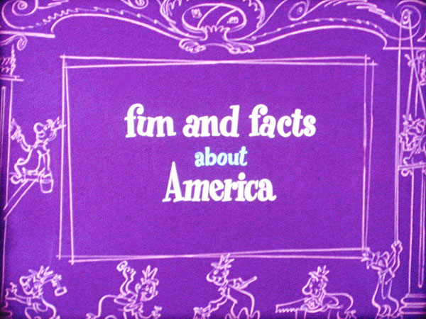 Fun And Facts About America Series Title Card