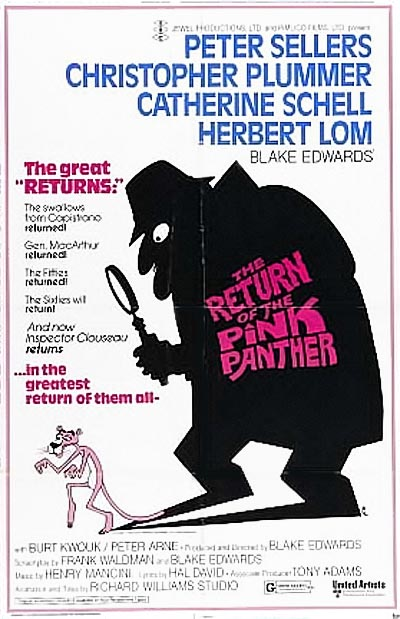 'The Return Of The Pink Panther' Poster