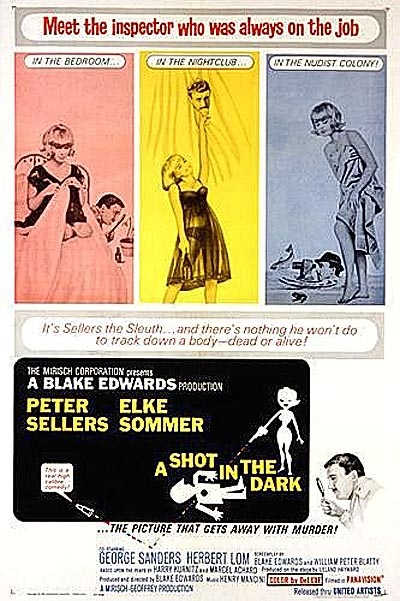 'A Shot In The Dark' Poster