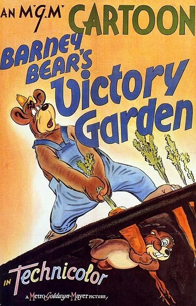 Barney Bear's Victory Garden Original Release Poster
