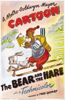 The Bear And The Hare Poster