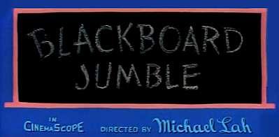 <i>Blackboard Jumble</i> Title Card