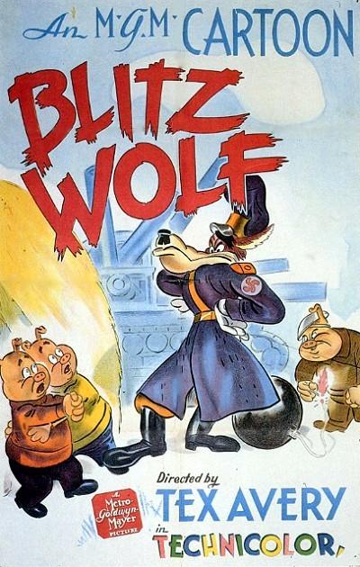 Blitz Wolf Original Release Poster