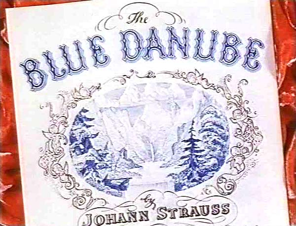 <i>The Blue Danube</i> Title Card