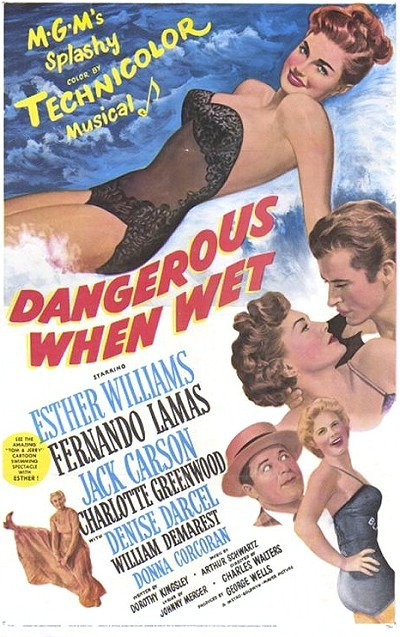 'Dangerous When Wet' Original Release Poster
