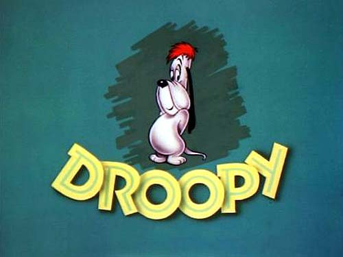 'Droopy' Series Title Card