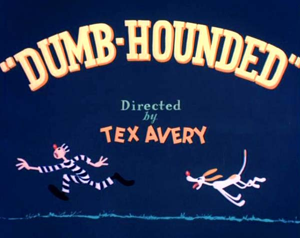 <i>Dumb-Hounded</i> Title Card