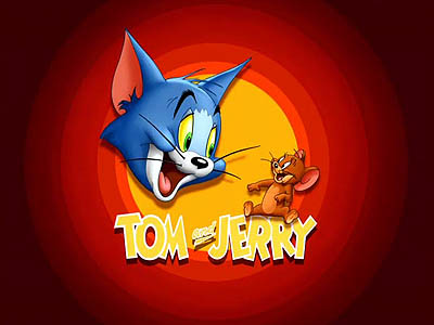 'Tom and Jerry Television' Series Title Card